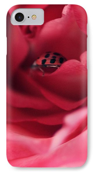 Patient Lady IPhone Case by The Art Of Marilyn Ridoutt-Greene