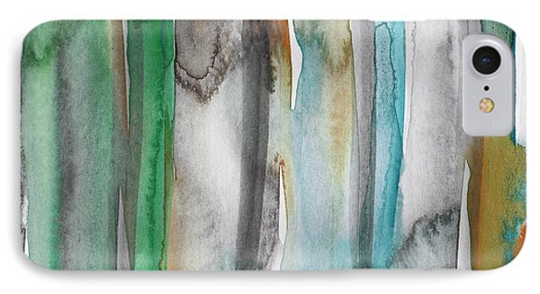 Patina- Abstract Art By Linda Woods IPhone Case by Linda Woods