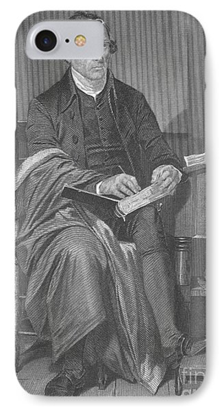 Patrick Henry, American Patriot Phone Case by Science Source