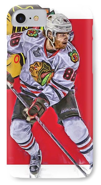 Patrick Kane Chicago Blackhawks Oil Art Series 2 IPhone Case