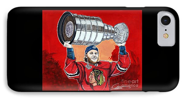 Patrick Kane Stanley Cup Champion 2015 IPhone Case