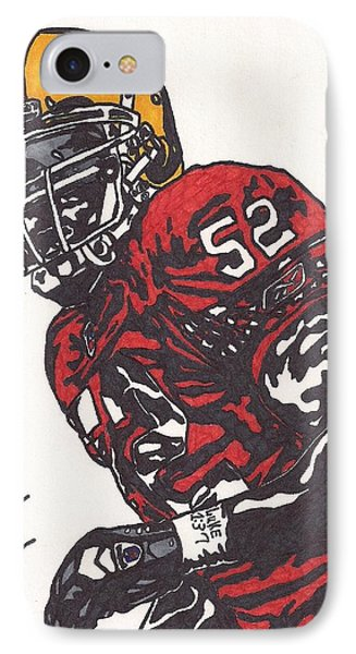 Patrick Willis Phone Case by Jeremiah Colley