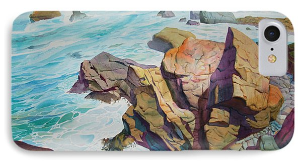 IPhone Case featuring the painting Patricks Point by John Norman Stewart