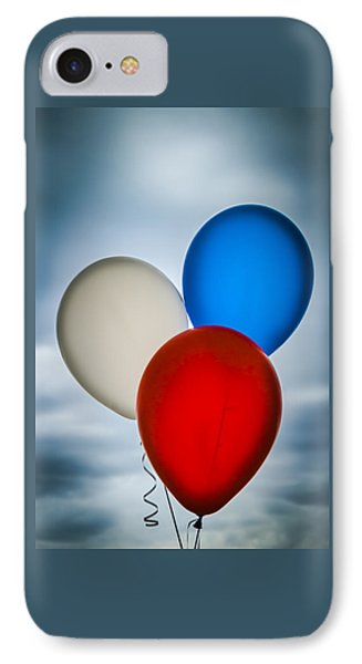 IPhone Case featuring the photograph Patriotic Balloons by Carolyn Marshall