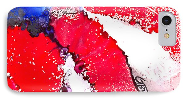 Patriotic Flag Abstract  Phone Case by GG Burns