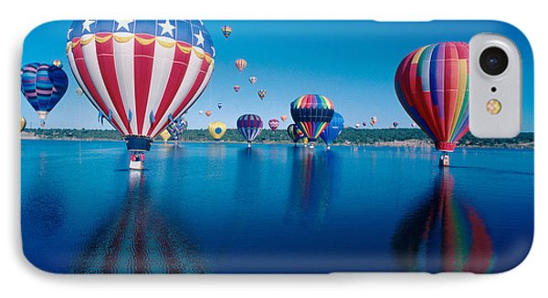 Patriotic Hot Air Balloon Phone Case by Jerry McElroy