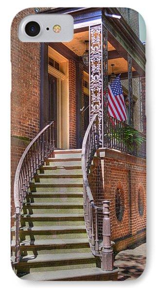Patriotic Jones Street IPhone Case