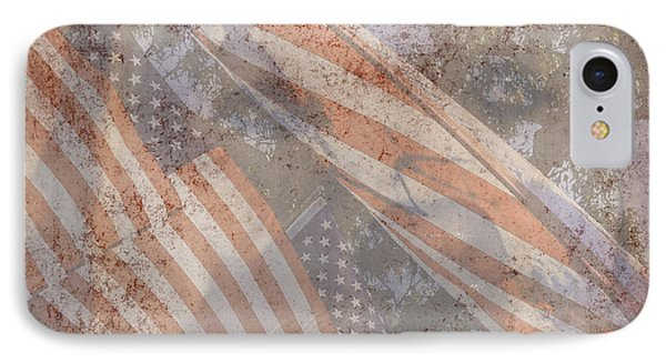 Patriotic Lab IPhone Case by Mary Ward