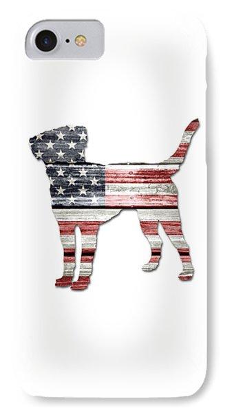 Patriotic Labrador Retriever IPhone Case