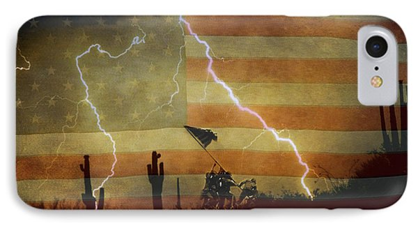 Patriotic Operation Desert Storm Phone Case by James BO  Insogna