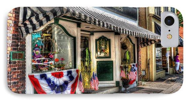 Patriotic Street IPhone Case by Debbi Granruth