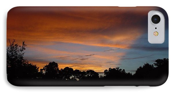 Patriotic Sunset IPhone Case by Kerry Beverly
