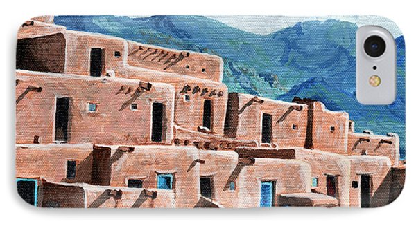Patrolling The Pueblo IPhone Case by Timithy L Gordon