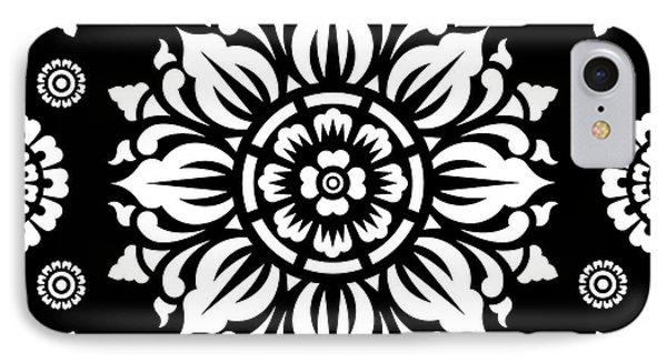 Pattern Art 01-1 IPhone 7 Case by Bobbi Freelance