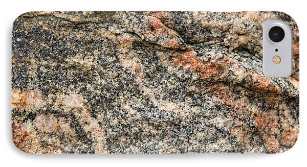 Pattern In A Granite Rock - Square Format IPhone Case