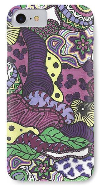 Pattern Jungle IPhone Case by Jill Lenzmeier