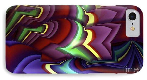 Pattern Phone Case by Ron Bissett