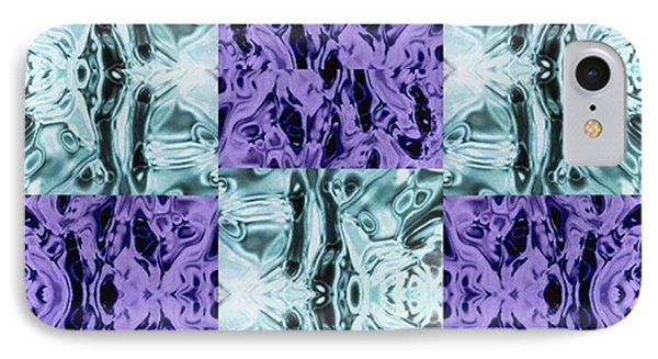 iPhone 7 Case - Ultra Violet  And Water  by Naomi Ibuki