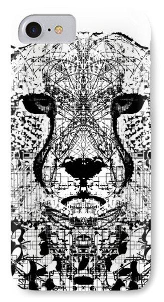 Patterned Cheetah IPhone Case by Harold Belarmino