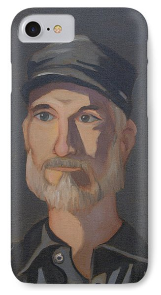 Paul Bright Portrait IPhone Case by John Holdway