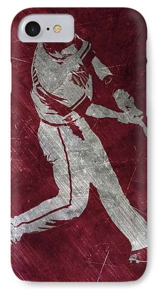 Paul Goldschmidt Arizona Diamondbacks Art IPhone 7 Case by Joe Hamilton