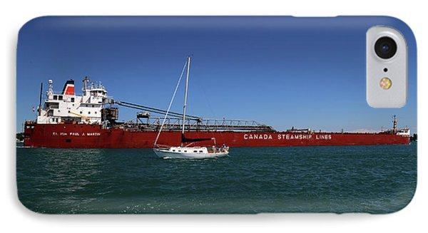 Paul J. Martin And Sailboat IPhone Case