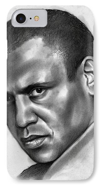 Paul Robeson IPhone Case by Greg Joens