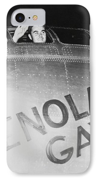 Paul Tibbets In The Enola Gay Phone Case by War Is Hell Store