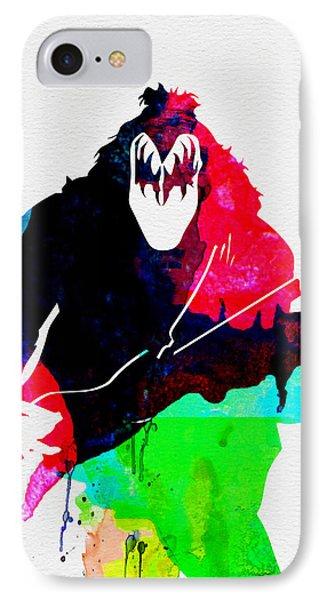 Paul Watercolor IPhone Case by Naxart Studio