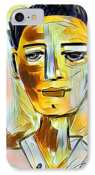 Pauls Portrait IPhone Case by Elaine Lanoue