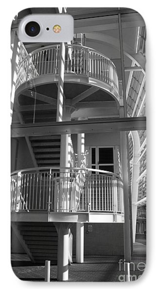 Pavilion Stairs At The Ageas Rose Bowl Phone Case by Terri Waters
