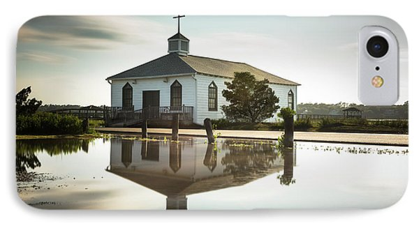 Pawleys Chapel Reflection IPhone Case by Ivo Kerssemakers