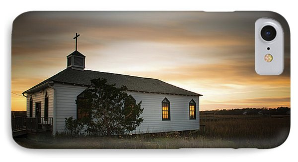 Pawleys Chapel Sunset IPhone Case by Ivo Kerssemakers