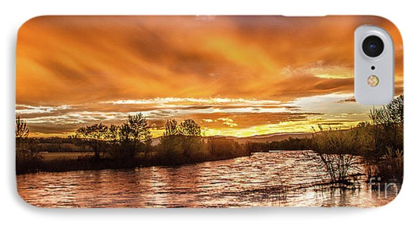 Payette River Sunrise IPhone Case by Robert Bales