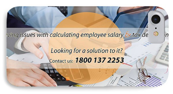 Payroll Erp Software In India IPhone Case