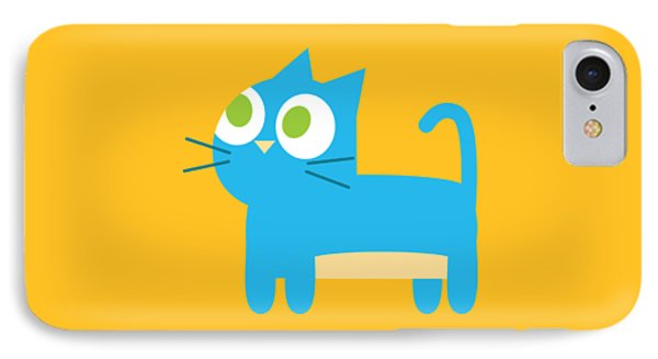 Pbs Kids Cat IPhone Case by Pbs Kids
