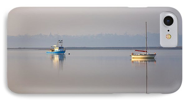 Peace At Anchor Phone Case by Mike  Dawson