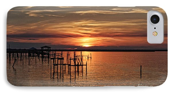 Peace Be With You Sunset IPhone Case