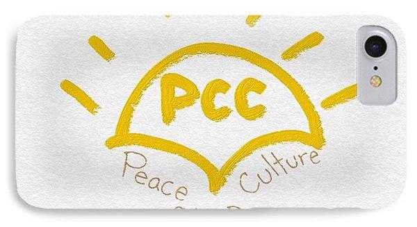 Peace Culture Club Logo Phone Case by Joshua Stepney