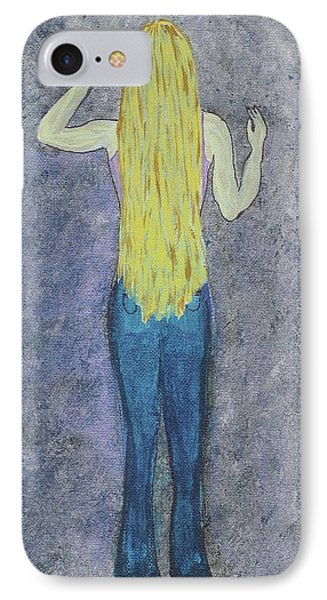 IPhone Case featuring the mixed media Peace by Desiree Paquette