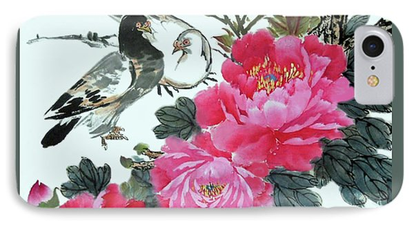Peace Flowers IPhone Case