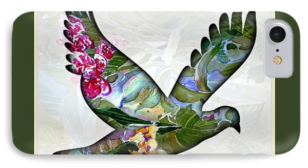 Peace For Peace IPhone 7 Case by Mindy Newman