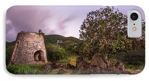 IPhone 7 Case featuring the photograph Peace Hill Ruins by Adam Romanowicz