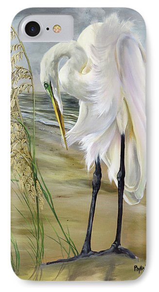 Peace In The Midst Of The Storm IPhone Case by Phyllis Beiser
