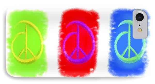 Peace IPhone Case by Kenneth Krolikowski