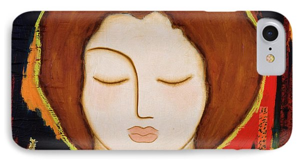 IPhone Case featuring the painting Peace Messenger by Gloria Rothrock