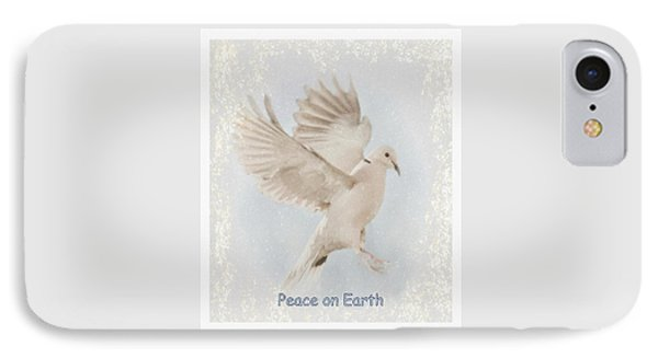IPhone Case featuring the photograph Peace On Earth by Diane Alexander