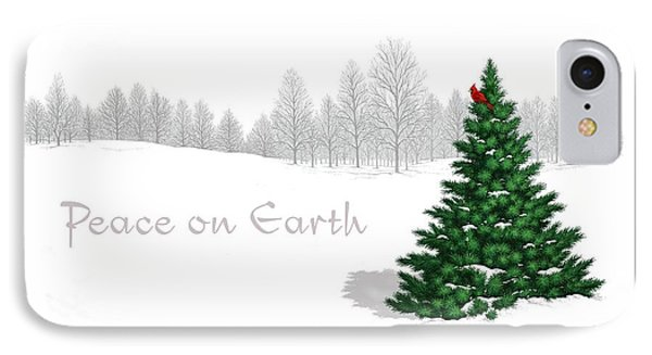 Peace On Earth IPhone Case by Scott Ross
