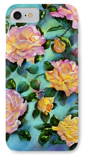 IPhone Case featuring the pastel Peace Opus by Ann Peck