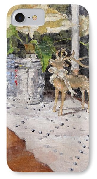 Peace To All Two IPhone Case by Laura Lee Zanghetti